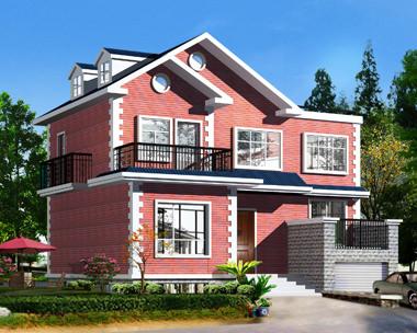 两层半新农村小别墅设计图纸