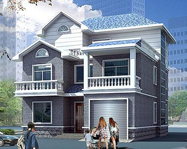 627三层新农村小康别墅设计图纸11m×11m