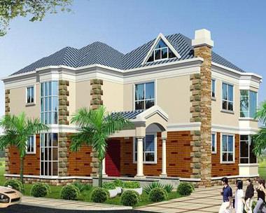 640二层新农村时尚小别墅设计图15m×13m