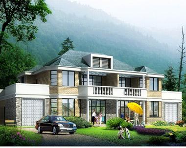 675二层双拼别墅设计钢筋结构施工图27m×15.6m