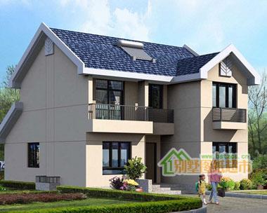 773-新农村住宅二层别墅设计图纸10m×11.5m
