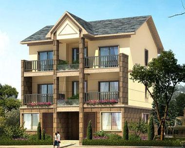 816三層新農村自建房住宅帶車庫 10m×13m