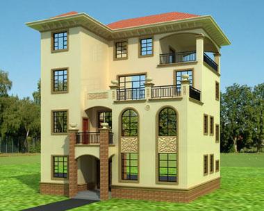 870号4层豪华别墅建筑设计图纸11m×12m