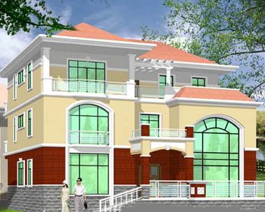 488欧式豪华三层别墅施工图纸别墅设计图纸